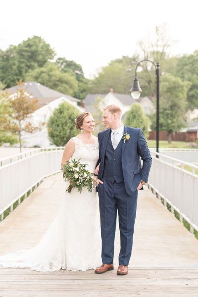 Victoria Rayburn Photography photographed Nick and Andrea Peterson's eMbers wedding in Rensselaer, Indiana.