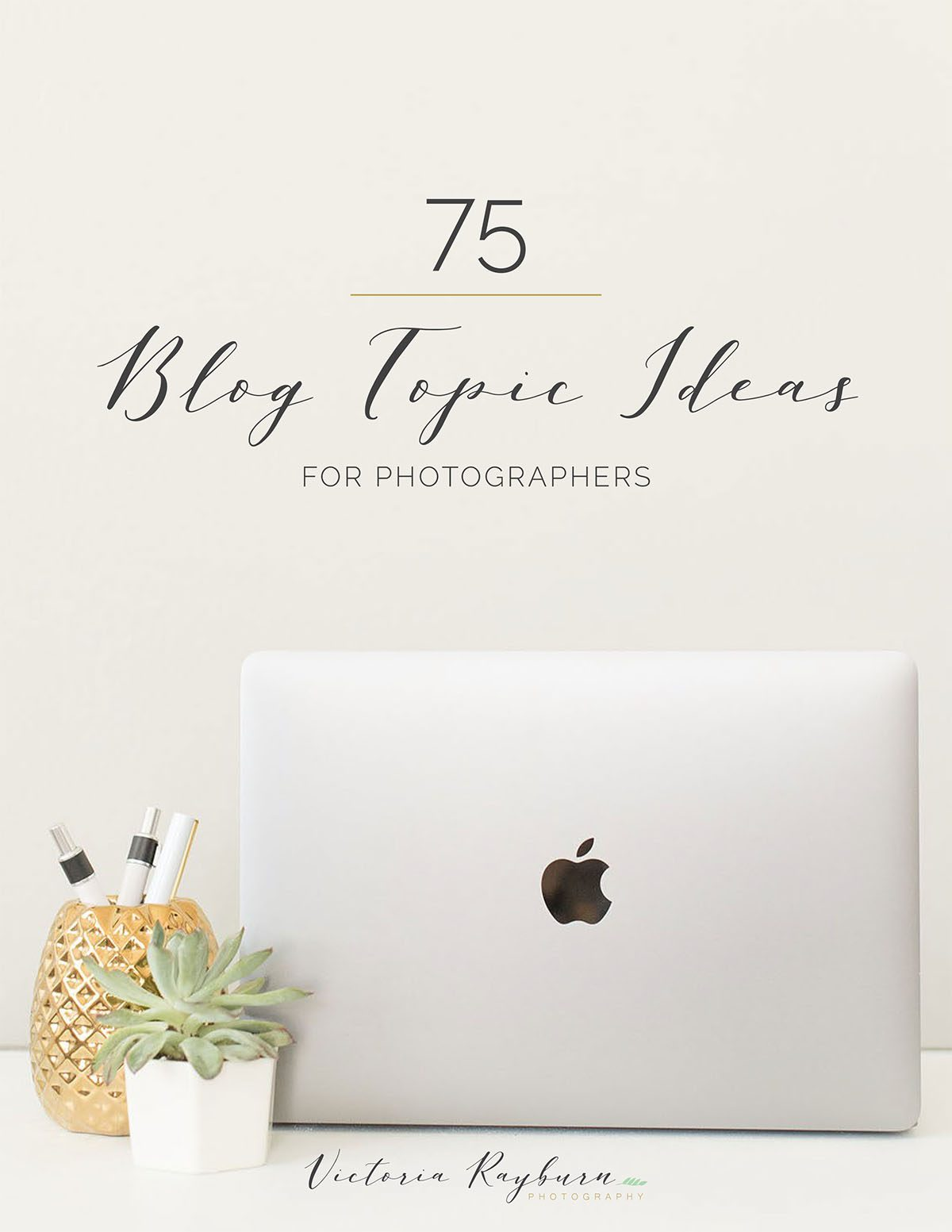 For Photographers and Entrepreneurs