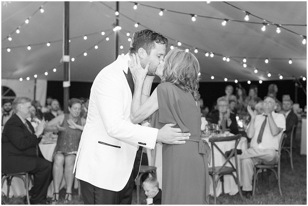 Wedding reception in Rochester, Indiana