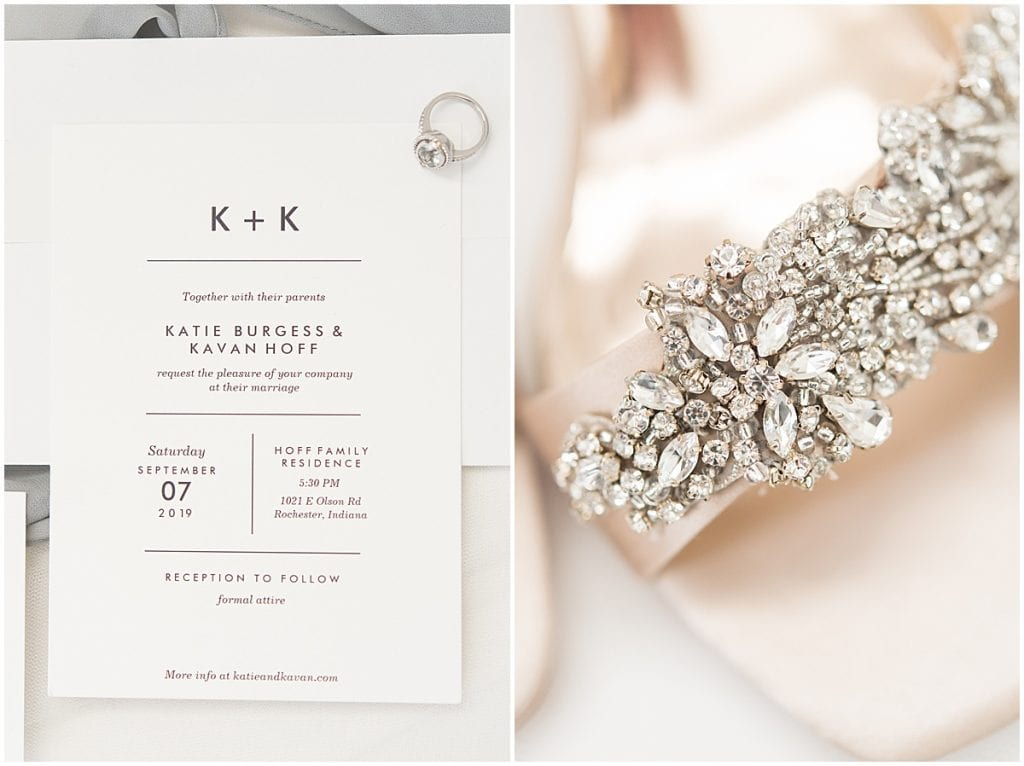 Neutral-colored wedding