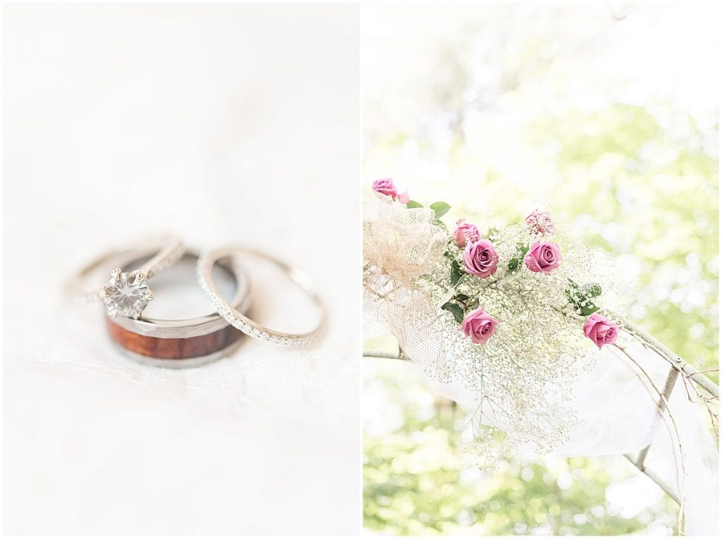 Details of COVID backyard wedding in West Lafayette, Indiana by Victoria Rayburn Photography