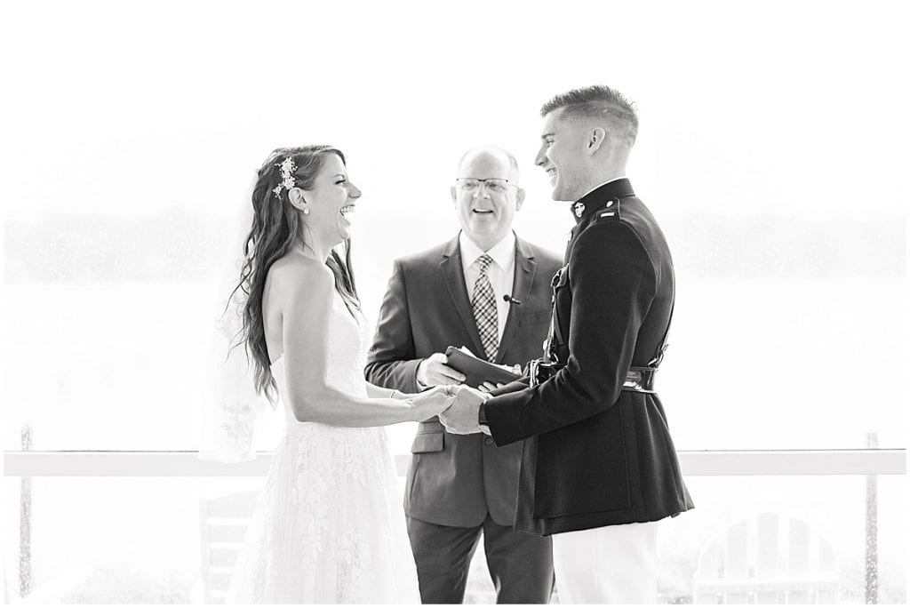 wedding at The Lighthouse Restaurant in Cedar Lake, Indiana by Victoria Rayburn Photography
