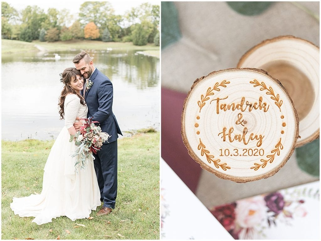 Details of wedding at Innovation Church in Lafayette, Indiana by Victoria Rayburn Photography
